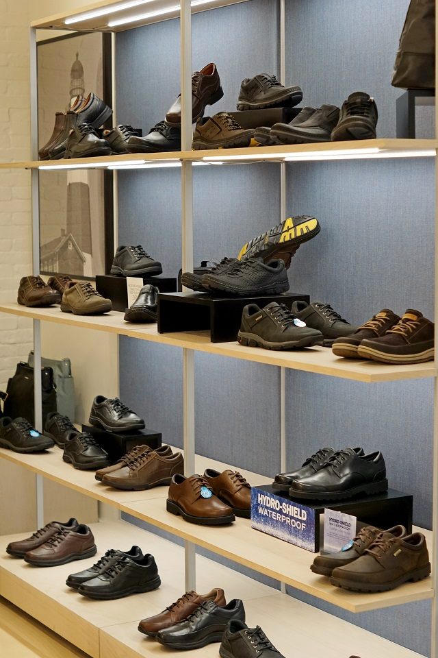 Winnipeg Style Rockport shoes media launch new concept store Canada