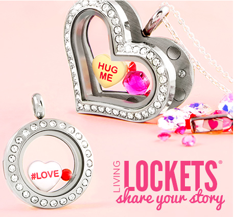 O NEW ORIGAMI OWL PINK X {HEART} CHARM SET