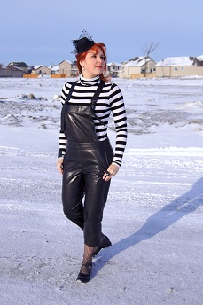 Everyday Outfit January 23, 2012, Mark Fast for Danier, Attitude, Fluevog Kathy