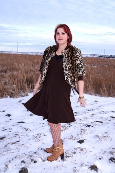 Everyday Outfit January 5, 2012, Sisters Outerwear, Le chateau, Chie Mihara